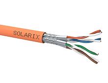 Instalační kabel Solarix CAT7A SSTP LSOH Cca s1 d1 a1 1200MHz 500m/cívka