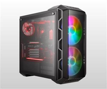 Cooler Master case MasterCase H500 ARGB, E-ATX, Mid Tower, šedá, bez zdroje