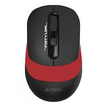 A4tech FG10, FSTYLER bezdrátová myš, 2000DPI, USB, červená