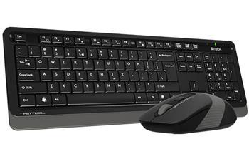 A4tech FG1010 Grey FSTYLER set bezdr. klávesnice + myši, voděodolné provedení, šedá barva