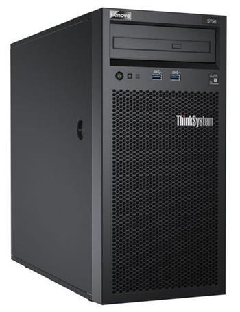 Lenovo Server ST50 Xeon E-2224G (4C 3.5GHz 8MB Cache/71W), SW RAID, 2x1TB SATA, 1x8GB, 250W, Slim DVD-RW, 1 year
