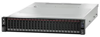 Lenovo Server SR655, 1xAMD EPYC 7282 16C 120W 2.8GHz 120W, 1x32GB 2Rx4, RAID 930-8i 2GB Flash PCIe 12Gb Adapter, 1x750