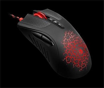 A4tech BLOODY Bloody laserová herní myš AL90A, 8 programovatelných tlačítek CORE 3