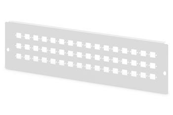 Digitus Adaptérová deska pro DN-96800L-2, šedá (RAL 7035) 48x SC-SX, LC-DX, E2000-SX
