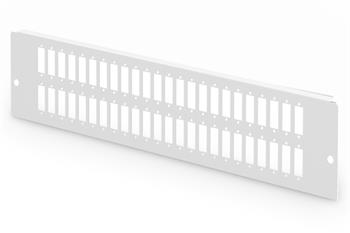Digitus Adaptérová deska pro DN-96800L-2, šedá (RAL 7035) 48x SC-DX, LC-QD