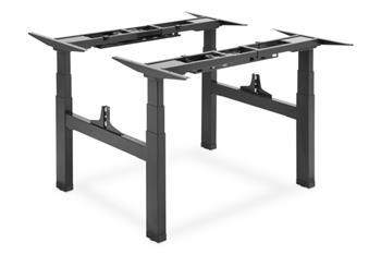 DIGITUS Elektrický výškově nastavitelný rám stolu, dvojitá pracovní stanice