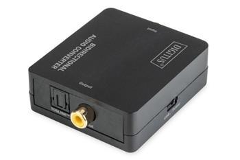Digitus Audio Converter 2-pásmový digitální koaxiální / TOSLINK