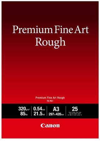 Canon fotopapír Premium FineArt Rough A3 25 sheets