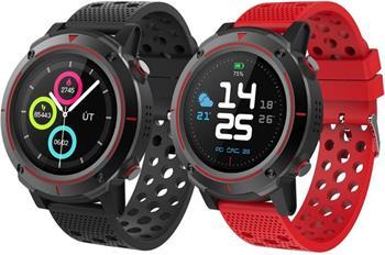 iGET ACTIVE A8 Red - Všestrané chytré hodinky, 1,3