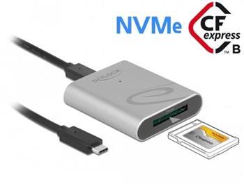 Delock Čtečka karet USB Type-C™ v hliníkovém krytu pro paměťové karty CFexpress