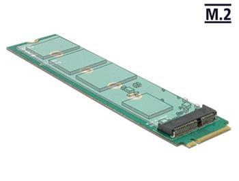 Delock Adapter M.2 Key M male > M.2 Key E slot