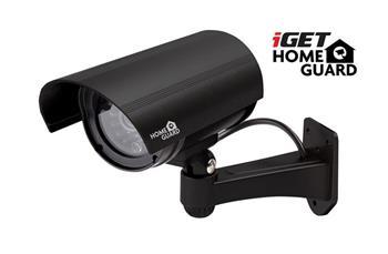 iGET HOMEGUARD HGDOA5666 - IP kamera maketa na stěnu, pro venkovní i vnitřní použití, blikající červená LED dioda