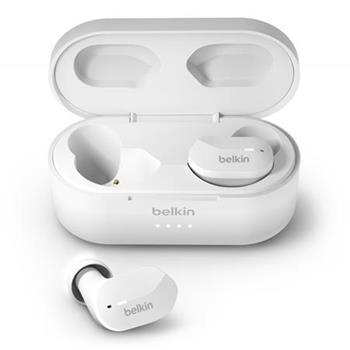Belkin SOUNDFORM™ bluetooth bezdrátová sluchátka, bílá