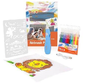 PEACH sada náplní pro electrický sprejovací kreslící set pro děti, 12 ks