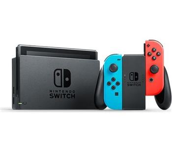 Nintendo Switch Neon Blue & Neon Red - V2