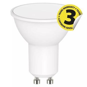 Emos LED žárovka MR16, 9W/60W GU10, WW teplá bílá, 806 lm, Classic A+