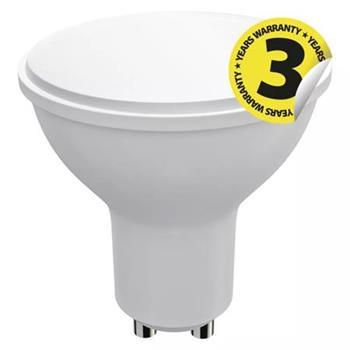 Emos LED žárovka MR16, 9W/60W GU10, CW studená bílá, 806 lm, Classic A+