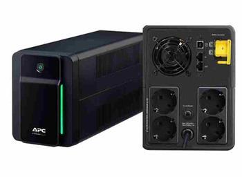 APC Back-UPS BXM 2200VA (1400W), AVR, USB, německé Schuko zásuvky