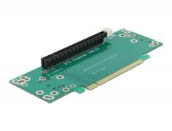 Delock Riser Card PCI Express x16 na x16 vkládání vlevo - Výška slotu 53,9 mm
