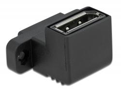 Delock Adaptér DisplayPort System 45, pravoúhlý 90°
