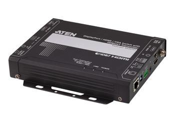 ATEN DisplayPort / HDMI / VGA Switch with HDBaseT Transmitter