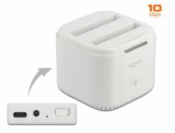 Delock Dokovací stanice USB Type-C™ 3.2 pro 2 x 2.5