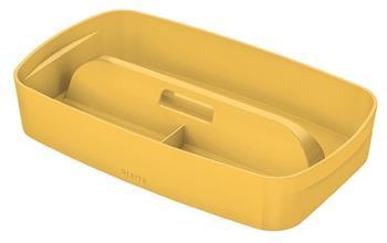 Organizér s držadlem Leitz MyBox Cosy, teplá žlutá