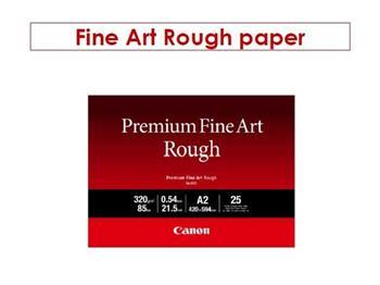 Canon A2 fotopapír Premium FineArt Rough A2 25 sheets