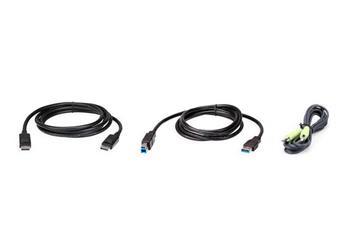 ATEN 2M USB DisplayPort KVM Cable Kit