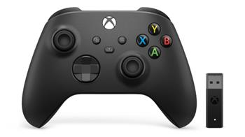 XBOX X Wireless Controller + Adapter for Windows 10