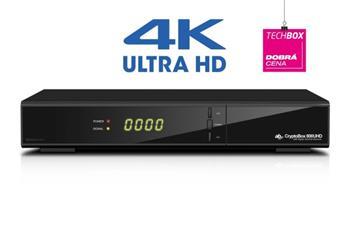 AB DVB-S/S2 přijímač Cryptobox 800UHD/4K/H.265/HEVC/ čtečka karet/ HDMI/ USB/ LAN/ PVR/