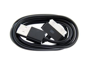 AVACOM Nabíjecí a datový USB kabel pro telefony Apple iPhone s konektorem 30pin (100cm), černý