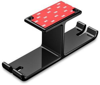CONNECT IT Univerzální držák na sluchátka pod desku stolu, ČERNÝ