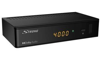 STRONG DVB-S/S2 set-top-box SRT 7009/ s displejem/ Full HD/ EPG/ USB/ HDMI/ LAN/ SCART/ SAT IN/ SPDIF/ černý