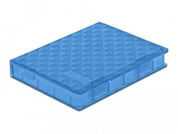 """Delock Ochranný kryt na pevný disk modrý SSD formátu 2.5"""""""