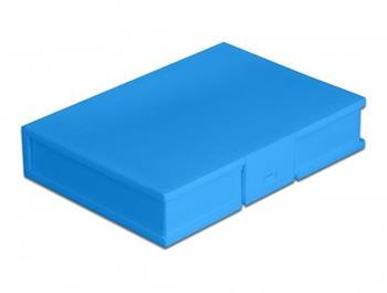 """Delock Ochranný kryt na pevný disk formátu 3.5"""" modrý"""