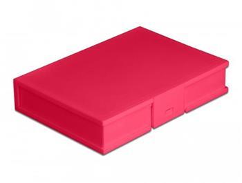 """Delock Ochranný kryt na pevný disk formátu 3.5"""" červená"""