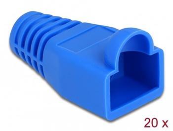 Delock Ochrana proti namáhání pro zástrčkový konektor RJ45, modrý, 20 ks