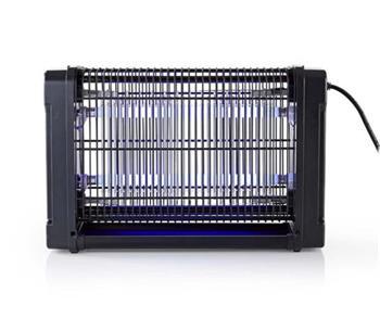 Nedis INKI110CBK16 - Elektrický Lapač Hmyzu | 16 W | Typ žárovky: F8T5 / BL | Efektivní rozsah: 50 m2 | Černá
