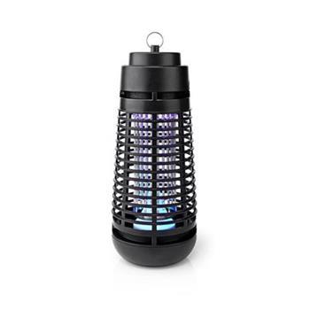 Nedis INKI112CBK6 - Elektrický Lapač Hmyzu | 4 W | Typ žárovky: LED Svítidlo | Efektivní rozsah: 35 m2 | Černá