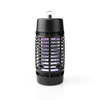 Nedis INKI112CBK4 - Elektrický Lapač Hmyzu | 3 W | Typ žárovky: LED Svítidlo | Efektivní rozsah: 30 m2 | Černá