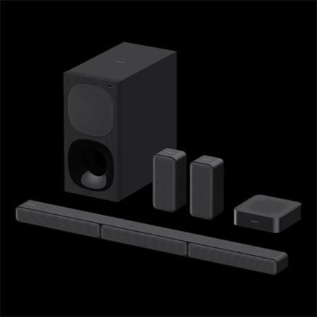 SONY Soundbar HT-S40R Unikátní 5.1 kanálový zvukový systém Soundbar s bezdrátovými zadními reproduktory