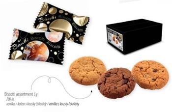Belgické sušenky - Biscotti assortment (200 ks)