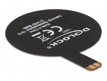 Delock Anténa NFC 13,56 MHz SMT FPC kulatá vnitřní černá samolepící