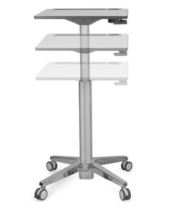 ERGOTRON LearnFit® Sit-Stand DeskMobile Student Desk, pracovní pojízdný stolek, k sezení i stání