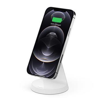 Belkin 7,5W Magnetické bezdrátové nabíjení (bez adaptéru), bílá