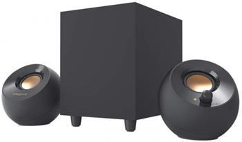 Creative Repro PEBBLE PLUS stolní repro 2.1 (napájení přes USB-C)