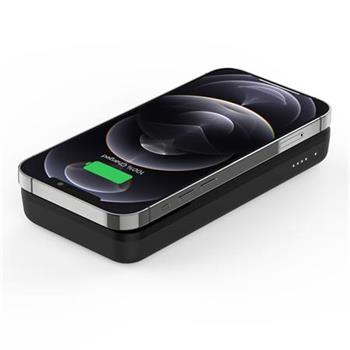 Belkin Magnetická Bezdrátová Power Delivery PowerBanka, 10000mAh, černá