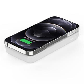 Belkin Magnetická Bezdrátová Power Delivery PowerBanka, 10000mAh, bílá