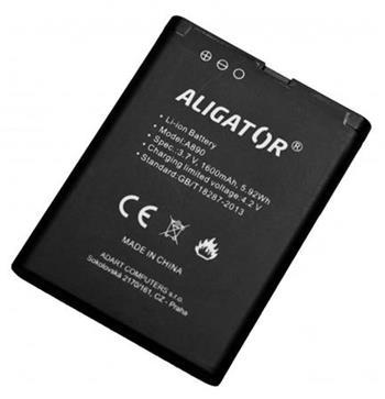 Aligator baterie A890, A900, Li-Ion 1600 mAh, originální